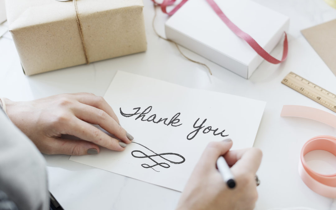 How to Get Your Thank You Cards Done in a Timely Manner