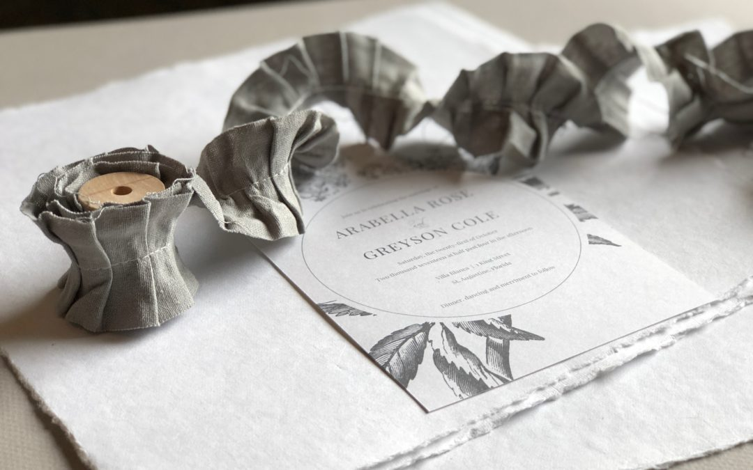 Wedding Stationery Terms
